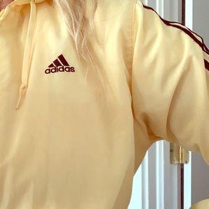 Retro Yellow Adidas Jacket